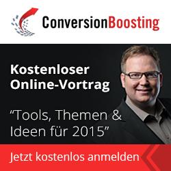 jetzt kostenlos teilnehmen: Online-Vortrag zur Conversion-Optimierung