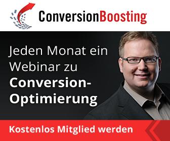 monatlich kostenlose Online-Vorträge zu Themen rund um Conversion-Optimierung