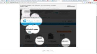 EyeQuant-Analyse - Landingpage HP