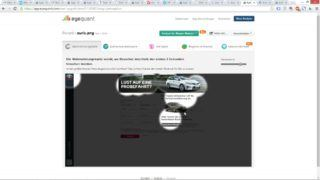 EyeQuant-Analyse - Landingpage Toyota