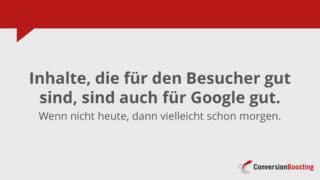 Google mag, was Benutzer mögen