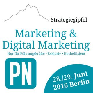 Strategiegipfel Marketing & Digital Marketing