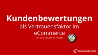 Kundenbewertungen im eCommerce