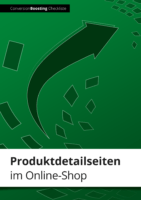 """Checkliste """"Produktdetailseiten im Online-Shop"""""""