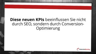 Links & Co sind keine geeigneten SEO-KPI mehr