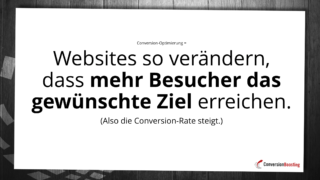 Webseiten so änder, das die Besucher öfter tun, was Sie wollen