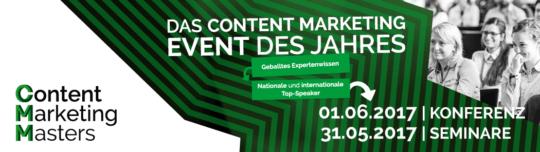 Die Konferenz rund um Content Marketing - Content Marketing Masters