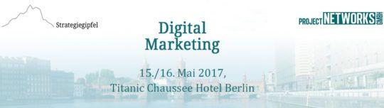 Strategiegipfel Digital Marketing in Berlin - Customer Experience & Customer Integration