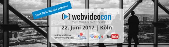 Die Video-Marketing-Konferenz in Köln - WebVideoCon