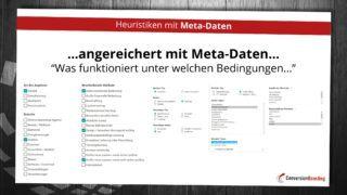 Heuristiken mit Meta Daten