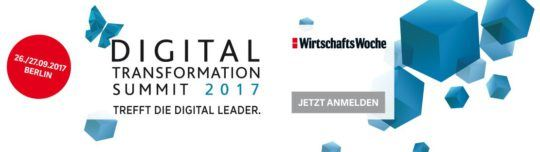 Digital Transformation Summit 2017 - Into the Future