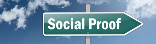 Mit Social Proof überzeugen - Conversion-Tipp der Woche